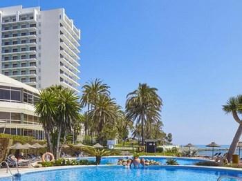 espagne hotel thb torrequebrada vue ensemble avec piscine
