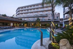 espagne lloret de mar hotel rosamar et spa  piscine