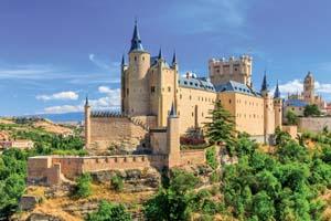 espagne segovie castilla leon alcazar chateau 05 fo_128081047