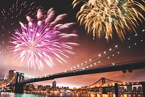 etats unis new york nouvel an fete  it