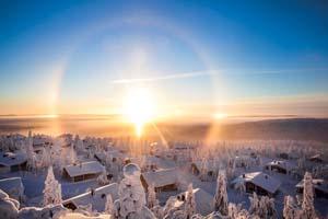 finlande paysage laponie