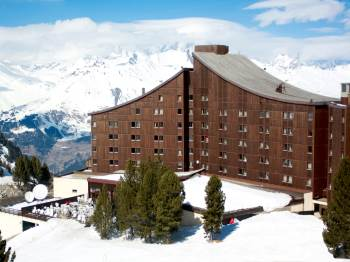france arc  altitude hotel