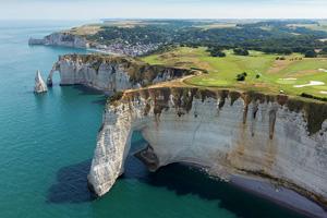 vignette France etretat falaise