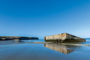 vignette France normandie omaha beach