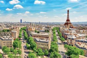 france paris vue panoramique depuis toit triomphal 76 as_121013416