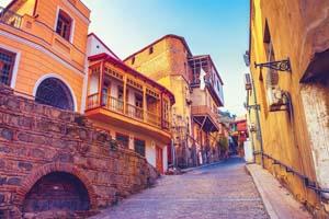 gerogie tbilissi caucase vieux quartier ville rue 16 fo_164598563