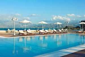 grece crete hotel miramare complex piscine