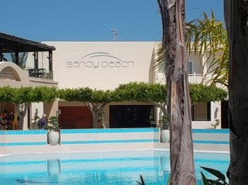 grece hotel sandy beach piscine