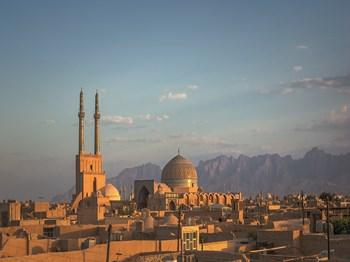 vignette Iran yazd vue ensemble