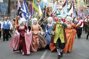 italie carnaval de lloret de mar