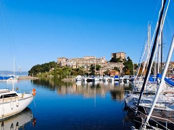italie lac bolsena port