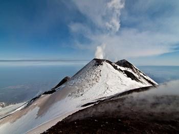 italie sicile etna cratere