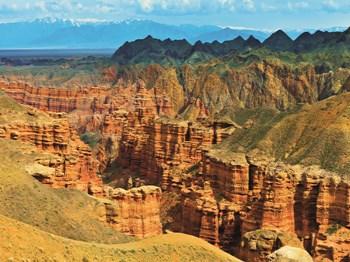 kazakhstan canyon de charyn