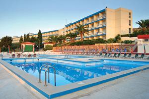 malte hotel mellieha bay pisicne
