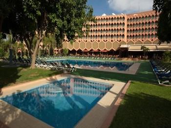 séjour maroc marrakech hotel asni vue ensemble