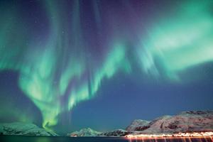 norvege aurore boreale
