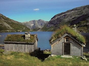 norvege region sognefjord