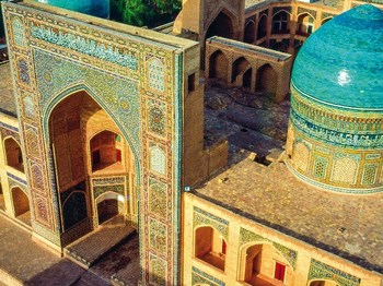 ouzbekistan boukhara medersa mir i arab