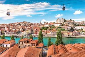 portugal porto paysage urbain centre ville 80 fo_100745888