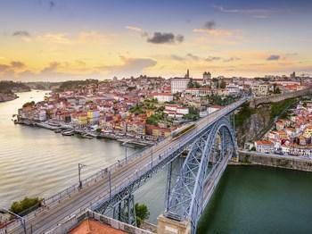 portugal porto vue ensemble pont