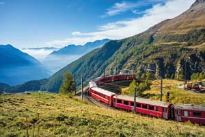 suisse tirano graubunden partir alp train 60 as_123923398
