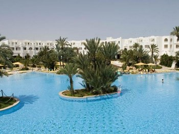 tunisie hotel vincci djerba ressort vue ensemble