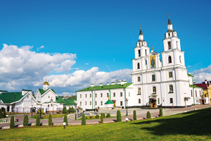 bielorussie minsk cathedrale saint esprit  fo