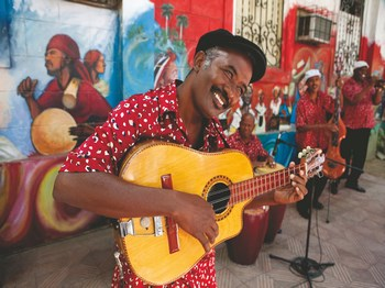 cuba guitariste guitare