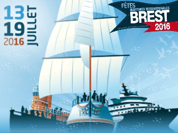 france brest  fetes internationale maritimes