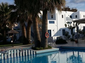 grece crete hotel hara ilios piscine