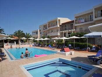 grece crete anisaras hotel cretan garden piscine