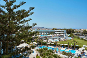 grece crete gouves hotel the island vue ensemble