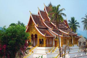 laos luang prabang temple  fo