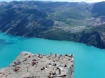 norvege lysefjord