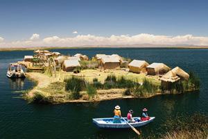 perou lac titicaca uros  fo