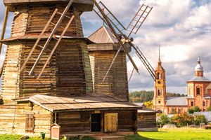 russie suzdal anciens moulins  fo
