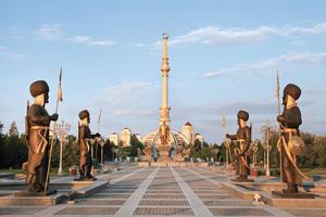turkmenistan ashgabat arc independance  fo