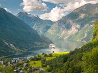 vignette fjords bateau norvege