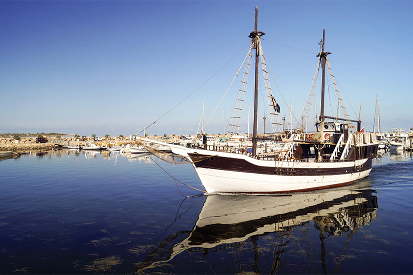 (image) image Bateaux dans un port de Djerba en Tunisie 33 as_97725565