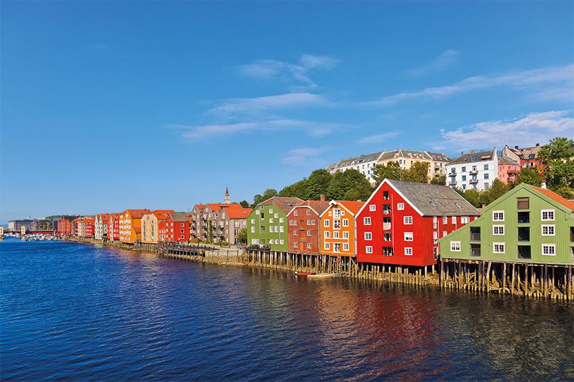 (image) image Paysage urbain de Trondheim Norvege 13 as_73504667