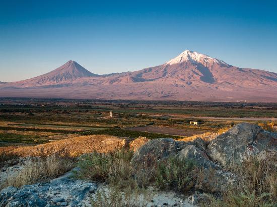 (image) image armenie ararat montagne