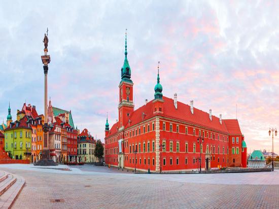 (image) image pologne varsovie castle square