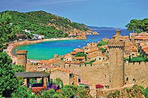 allemagne bade tossa de mar forteresse panorama  fo