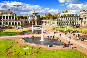 allemagne dresde musee zwinger  fo