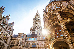 allemagne munich marienplatz  it