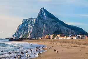 angleterre gibraltar panorama  fo