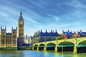 angleterre londres westminster bridge chambres du parlement riviere thames  fo