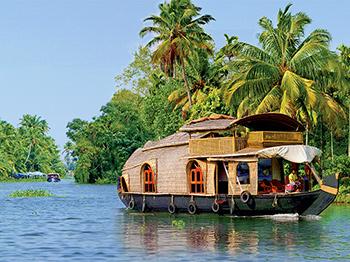 asie inde house boat a kumarakom