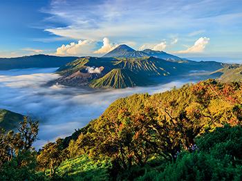 asie indonesie mont bromo