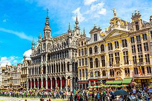La Belgique, le Cœur de l'Europe,
